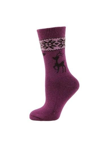 Panthzer Spor Çorap Mor